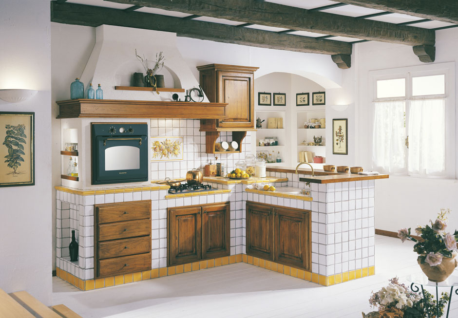 Cucine u nuova cotto nettuno