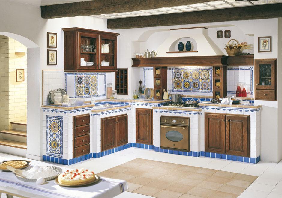 Cucine nuova cotto nettuno for Piastrelle piccole per cucina