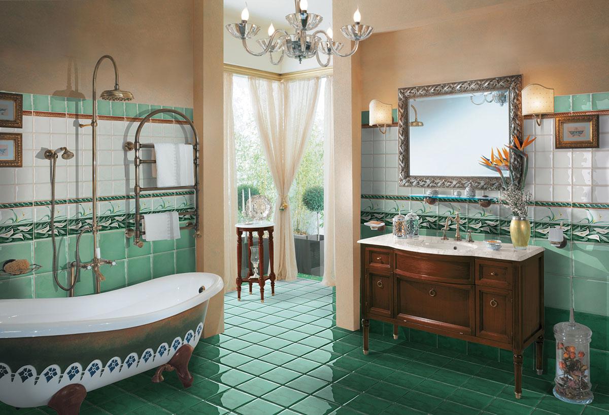 Cucina verde acqua casamia idea di immagine for Pareti verde acqua